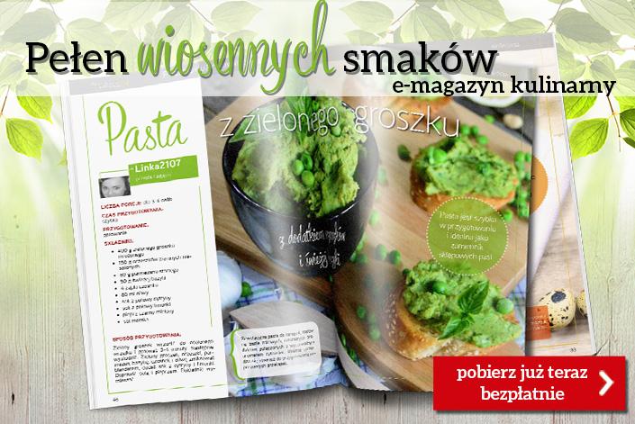 Pełen wiosennych smaków e-magazyn kulinarny