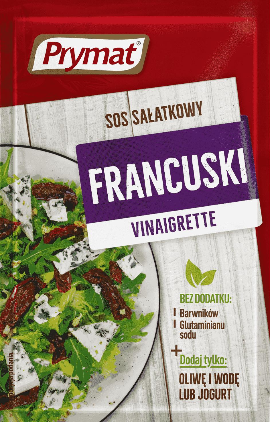 Sos Salatkowy Francuski Prymat