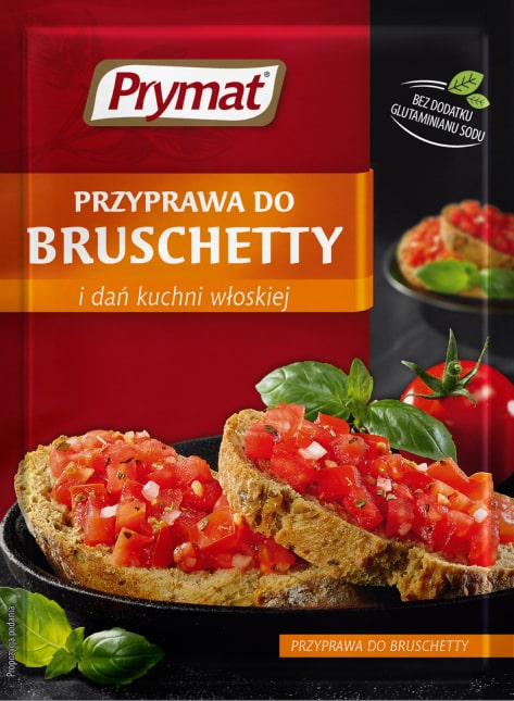Przyprawa Do Bruschetty I Dań Kuchni Włoskiej Prymat